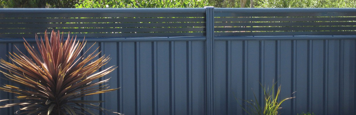 D Amp M Fencing Colorbond Gallery