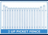 2  Up Picket Fence